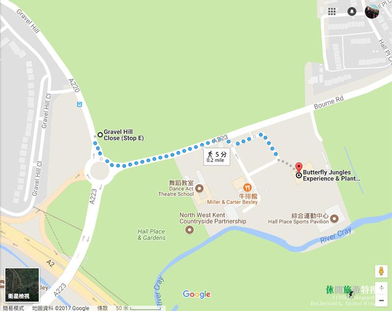 [英國.博克斯雷希斯] 倫敦東南區 英國人的後花園 Hall Place & Gardens和Severndroog Castle
