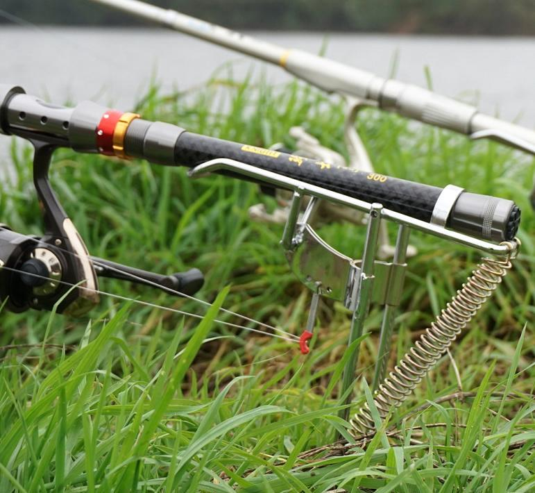 American deals automatic fishing hookset system rod for Automatic fishing rod
