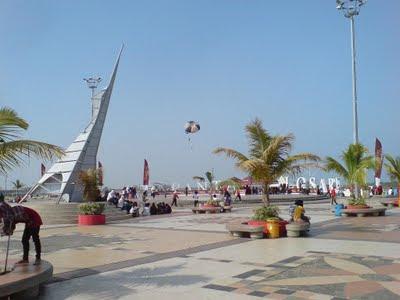 Kawasan Pantai Losari Makassar