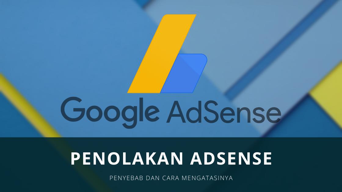 Penolakan AdSense