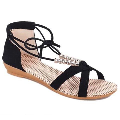 Beading design sandals