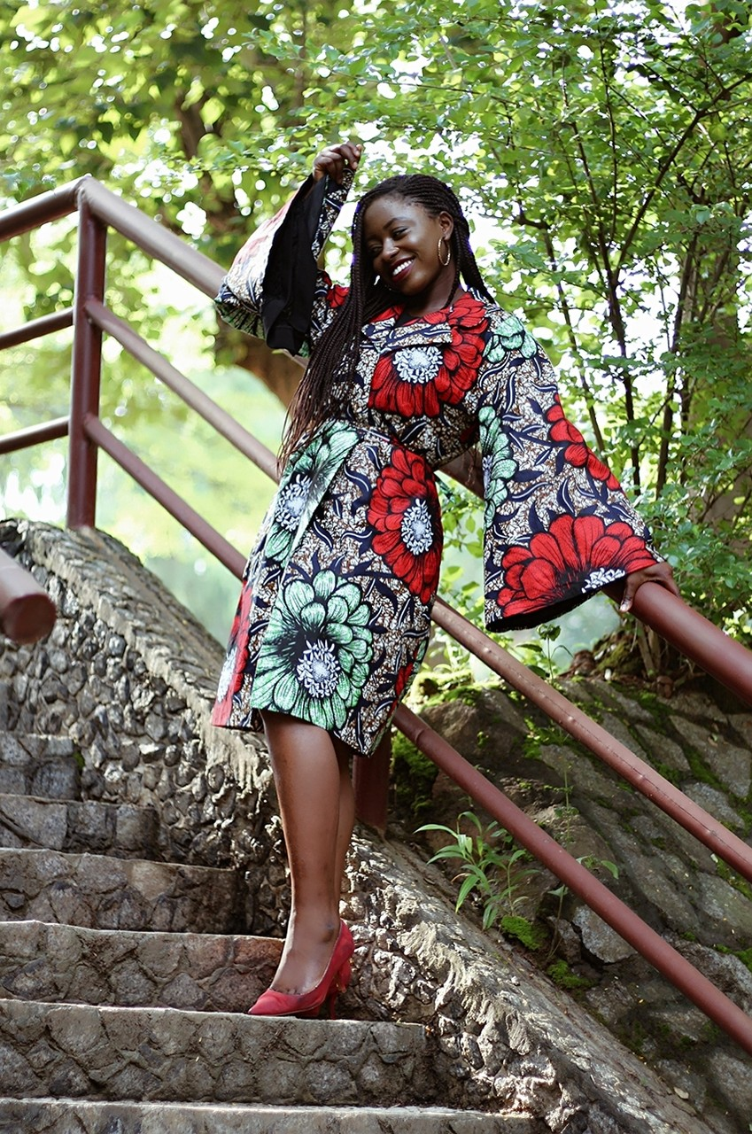 Made in Nigeria ankara dress