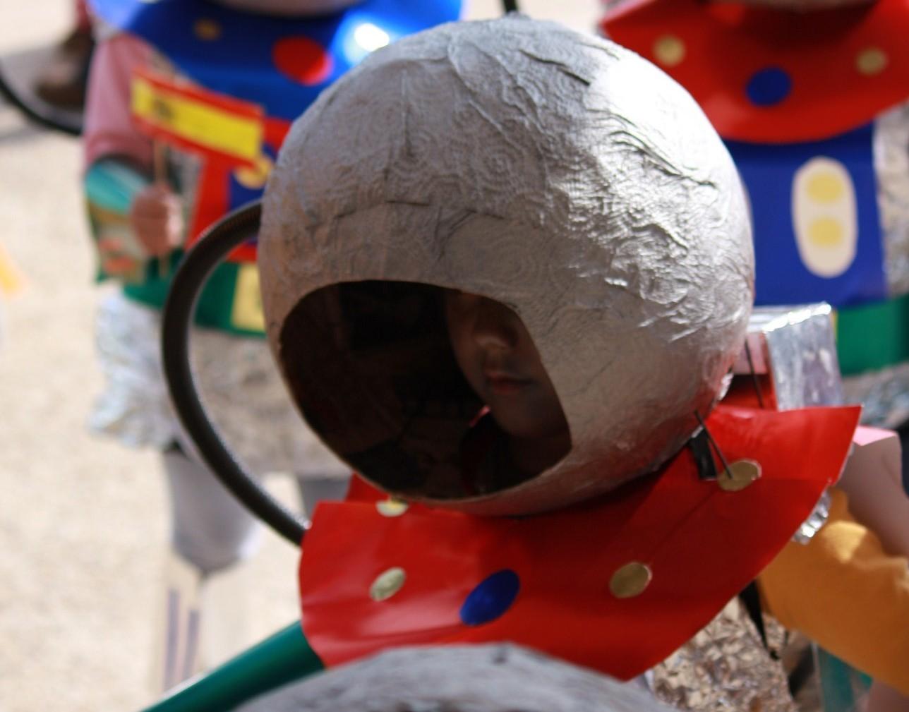 Casco Espacial Manualidades Hacer Un Casco Espacial Con