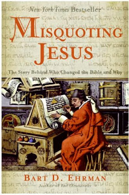 "Misquoting Jesus"" by Bart D. Ehrman – Front cover"