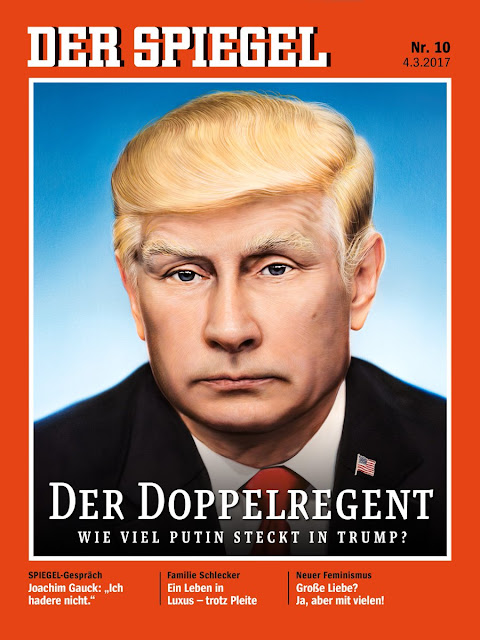 Tech media tainment trump magazine covers update three for Spiegel magazi