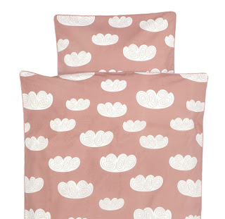 Ferm Living Cloud Rose Duvet Set
