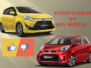 So sánh Kia Morning và Toyota Wigo 2018