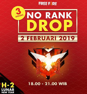No Rank Drop Free Fire (FF)