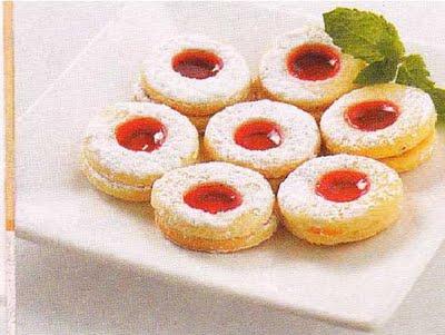 Recetas de galletas nidos de amor