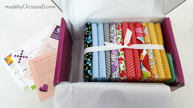Cotton Cuts fabric subscription review by madebyChrissieD.com