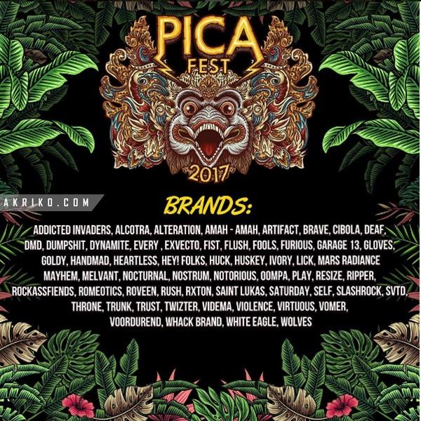 Ajang PICA Fest 2017, Pesta Bagi Pengusaha Clothing di Bali