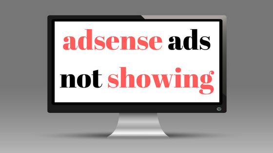 اعلانات ادسنس لا تظهر في بلوجر