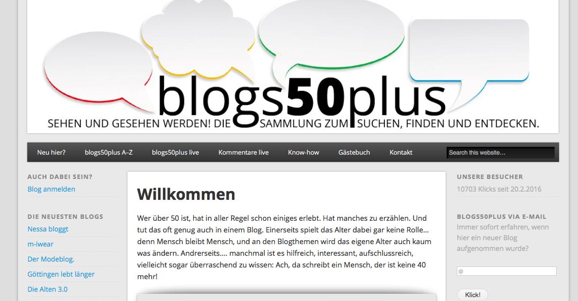 passen über 50 blog