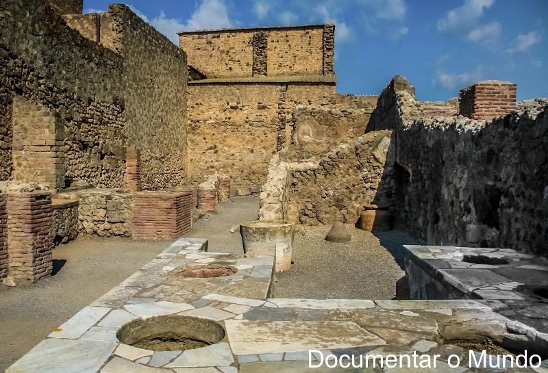Thermopolium Caupona, Pompeia, Itália