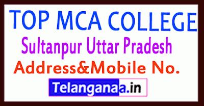 Top MCA Colleges in Sultanpur Uttar Pradesh