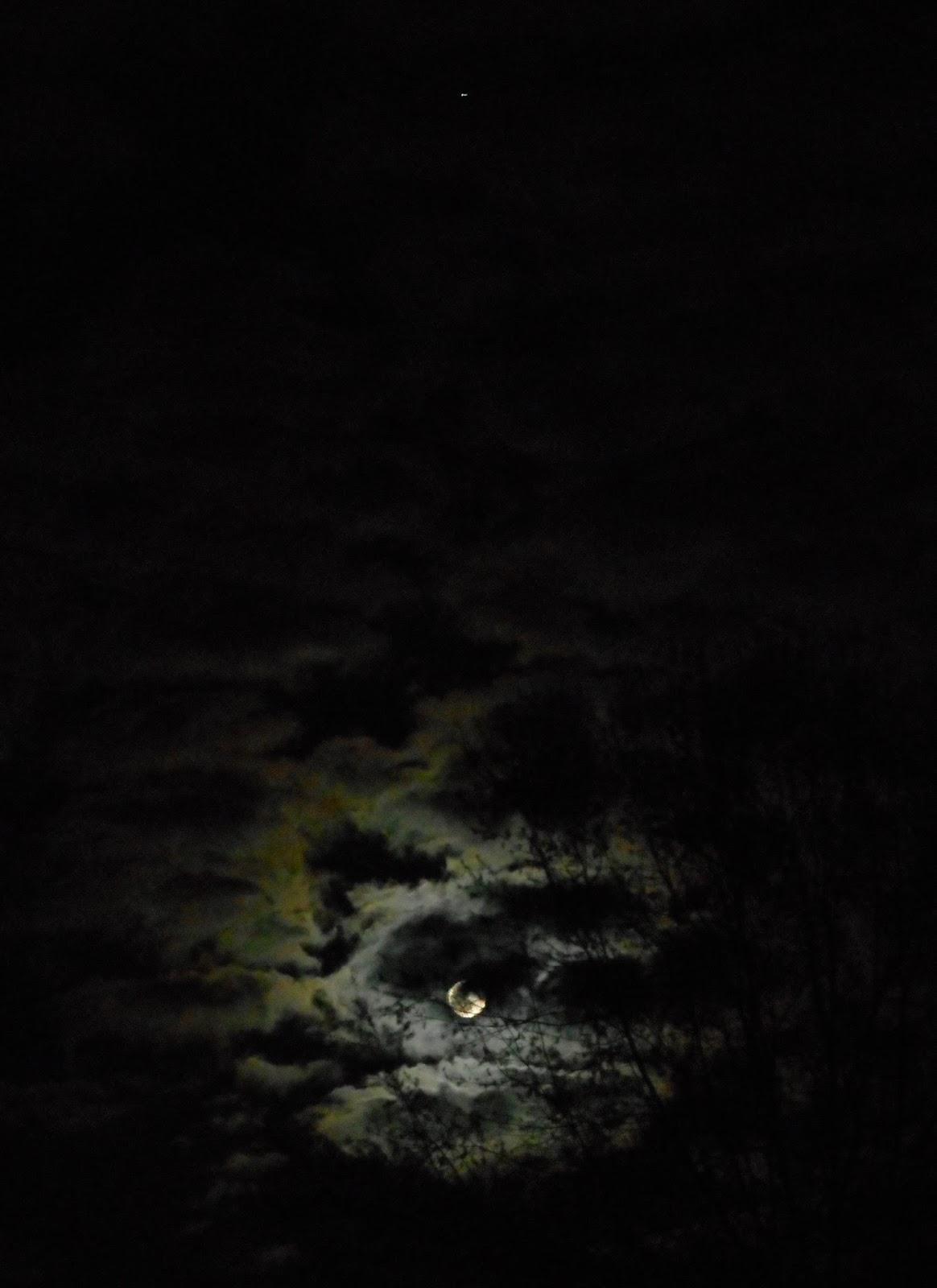 the moon and jupiter tonight - photo #27