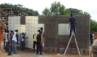 Brickless building system - moladi