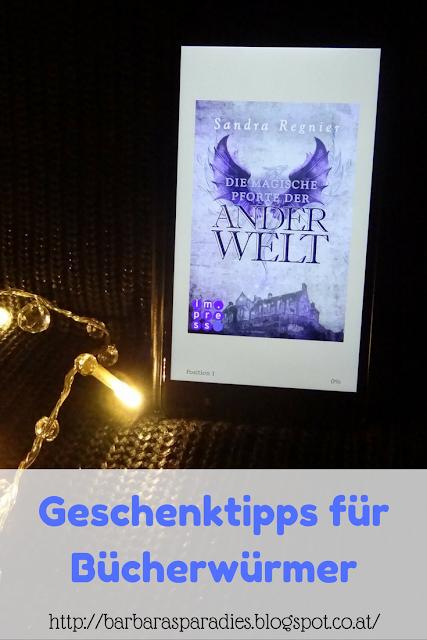 Geschenktipps für Bücherwürmer: Die magische Pforte der Anderwelt von Sandra Regnier