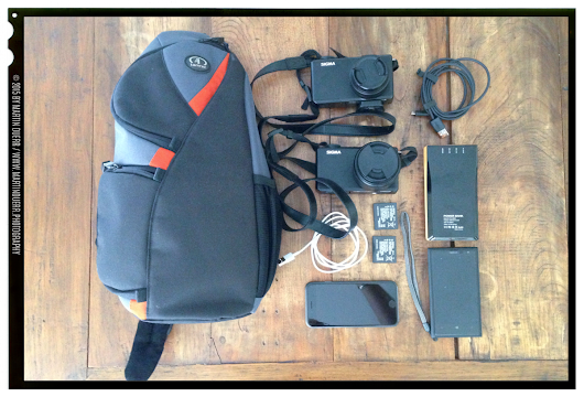 Weekly retrospective #71: What's in my bag (on city trips)