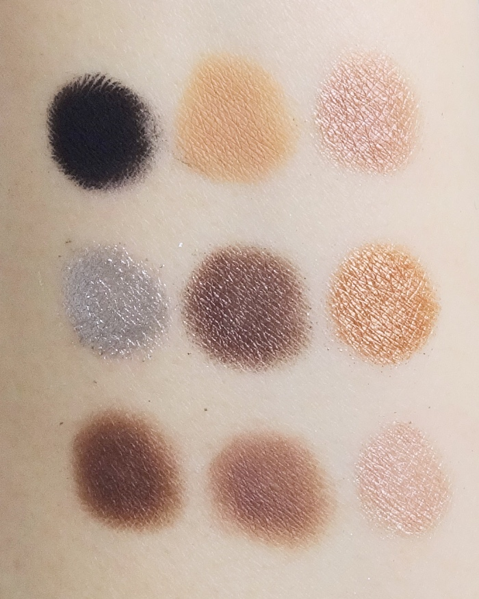Huda Beauty Smokey Obsessions swatch