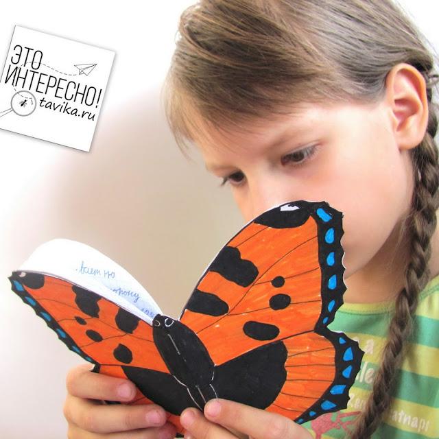 мини бук о бабочке