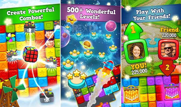 Toy Blast V5742 Can Ve Hamle Hileli APK