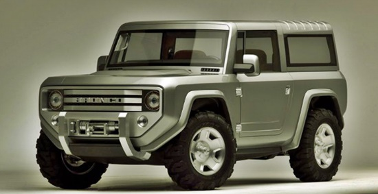 2019 Ford Bronco Rumors