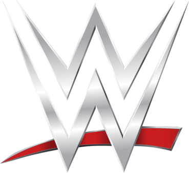 white WWE logo Network swoosh