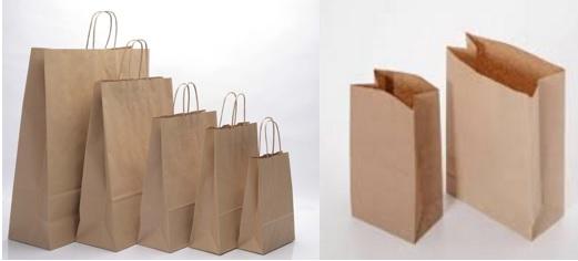 cómo hacer bolsas de papel kraft, hacer bolsas de papel estraza