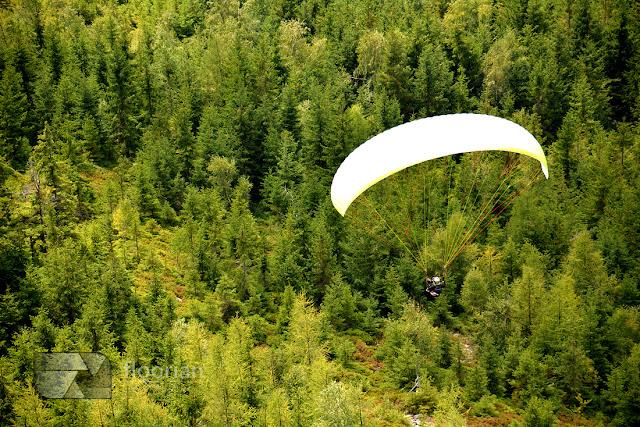 Loty lotnią w Sky Walk w Dolni Morava w Czechach
