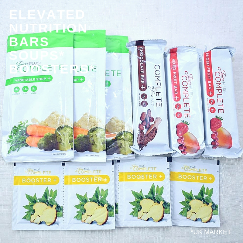 Elevated Nutrition Bars, Soups and Boosters I UK Diet Program I Awakened To Vitality