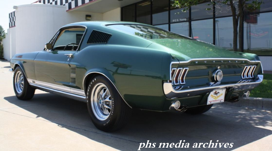 classic throwdown 1967 mustang