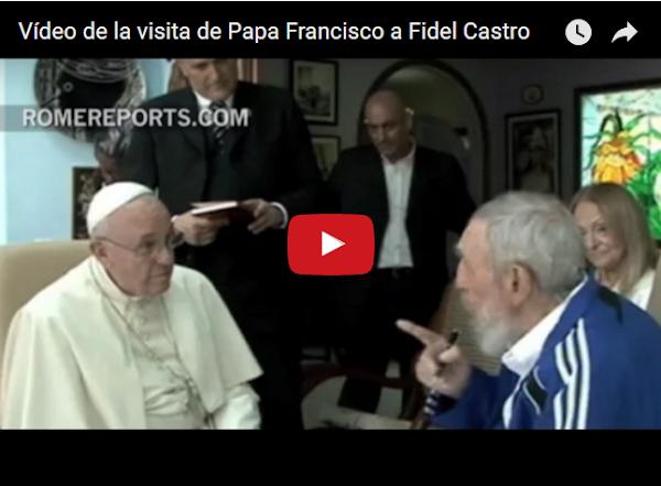 El Papa Comunista lamenta muerte de Castro