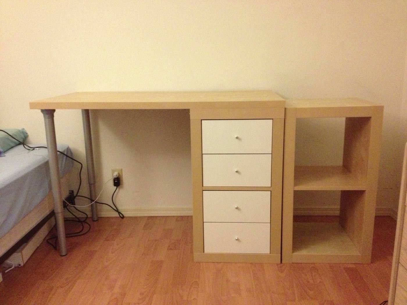 Ikea kallax linnmon ikea micke drawer file storage unit with