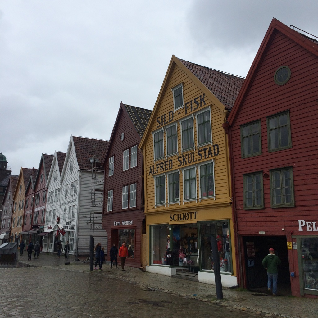 bryggen world heritage site