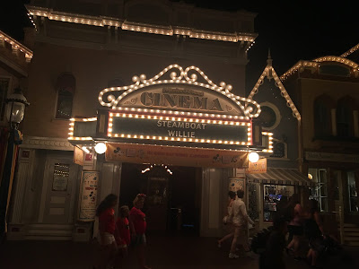 Main Street Cinema Disneyland