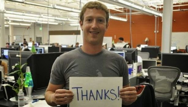 CEO Facebook, Mark Zuckerberg