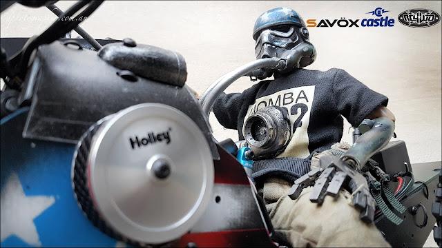 4WD Monster Trike