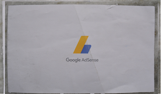 What does the Google adsense PIN mailer look like back