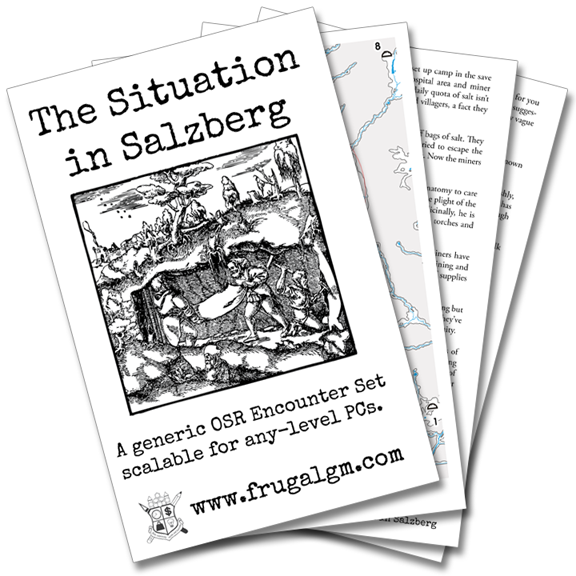 New Tweak & Toss Short Encounter Set: The Situation in Salzberg