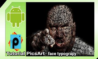Cara membuat typography di picsart