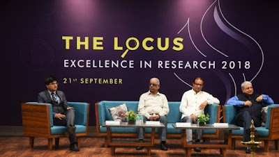 """Locus-Excellence in Research 2018"", an inaugural Session and Workshop held for the PhD/ M.Phil batch of 2018-19 at Jagran Lakecity University."