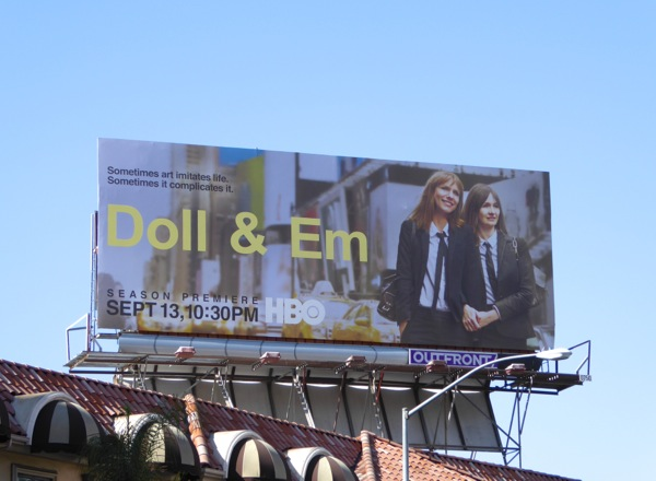 Doll and Em season 2 billboard
