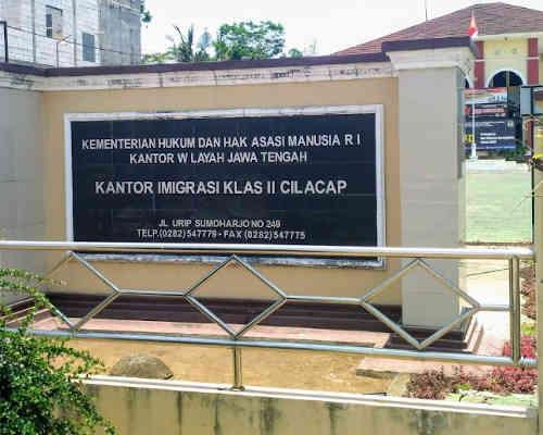 Alamat Telepon Kantor Imigrasi Cilacap - Jawa Tengah