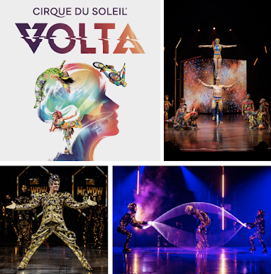 Don't Miss Cirque Du Soleil VOLTA at Del Mar Fairgrounds from April 3-May 5!