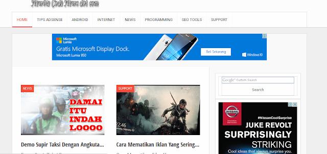 Cara Menampilkan Widget Blog Pada Halaman Tertentu, Cocok Untuk Blog Adsense