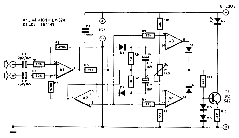20w Led Driver Circuit Diagram 95 Dodge Ram 3500 Radio Wiring Amplifiercircuits.com: Lights Upon Detection