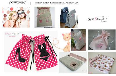 Ilustración Bolsitas para ropa interior by Diario Sensualité