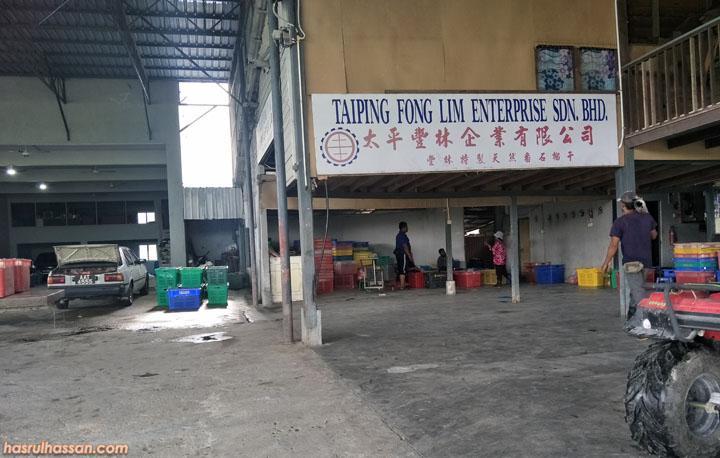 Kilang jambu batu di Trong, berdekatan Taiping