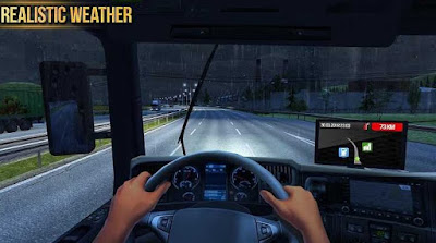 Screenshot Truck Simulator 2018 Europe Mod Apk